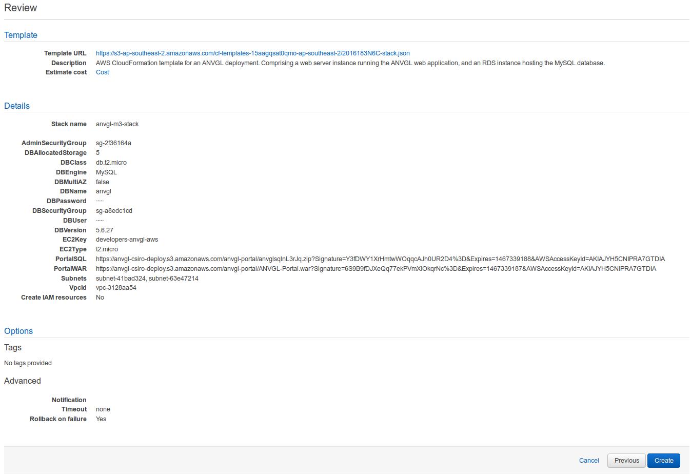AWS Deployment Instructions - ANVGL - Confluence