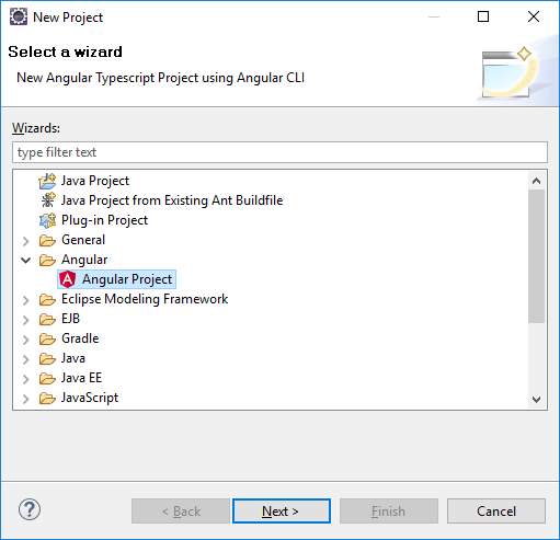 Developing Angular with Eclipse - DEVL - Confluence